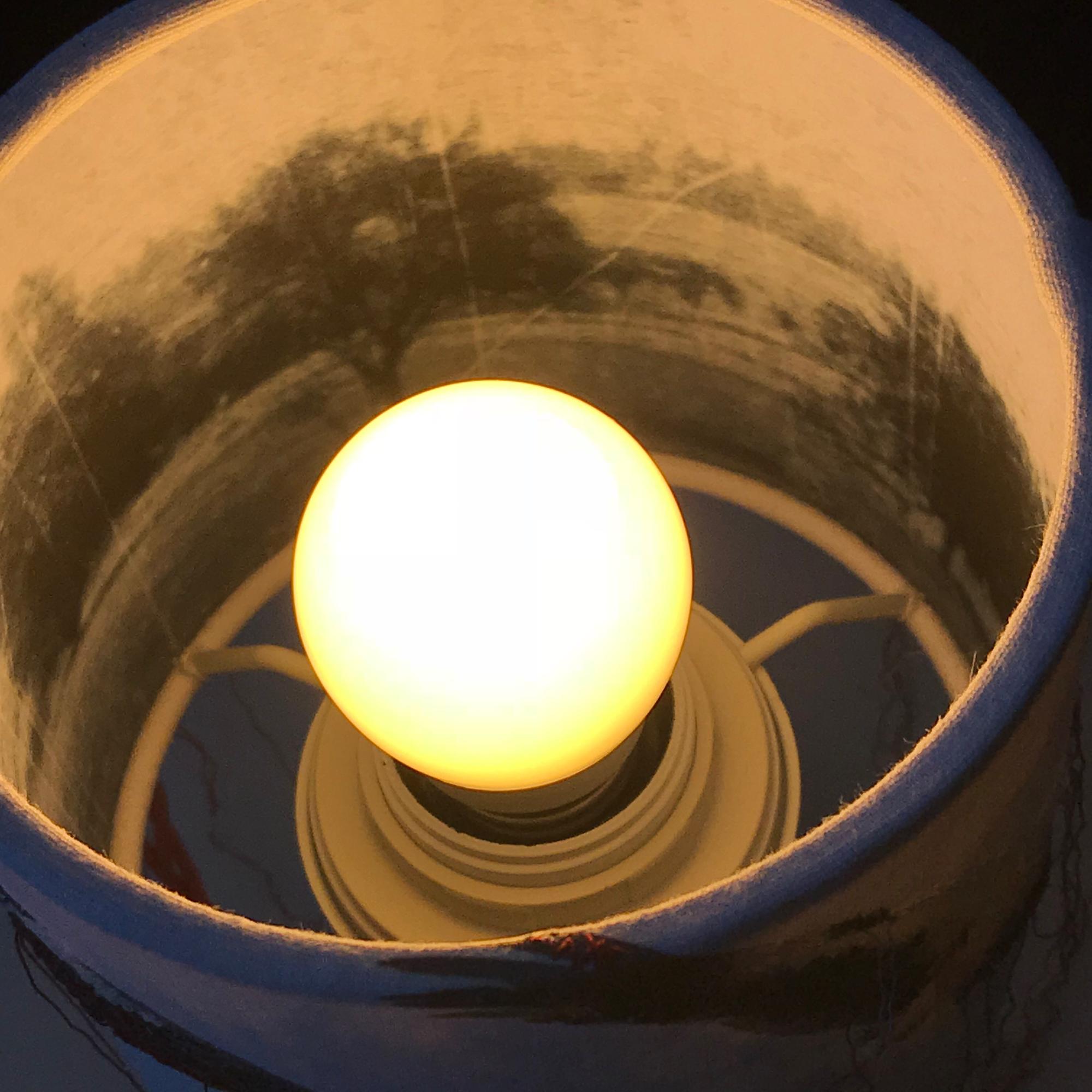 marteamano-Storchlampe, innen